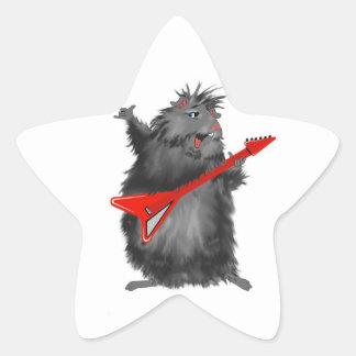 Rockin' Rodent Star Sticker