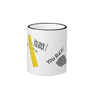 Rockin Ruler Ringer Coffee Mug