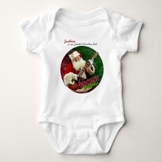 Rockin Santa Baby Bodysuit