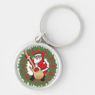 Rockin' Santa Keychain