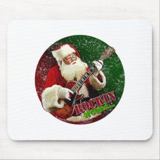 Rockin Santa Mouse Pad