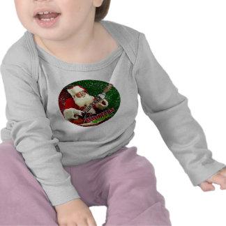 Rockin Santa Camisetas