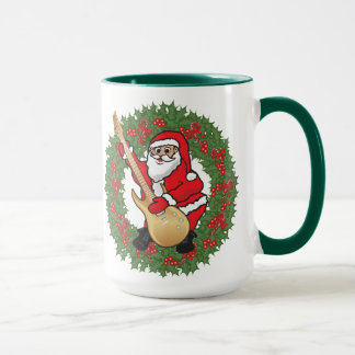 Rockin' Santa Skull Mug