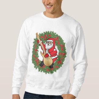 Rockin' Santa Skull Sweatshirt