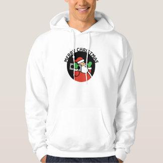 Rockin' Santa Sweatshirt Hoodie