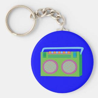Rockin' Stereo Key Chains