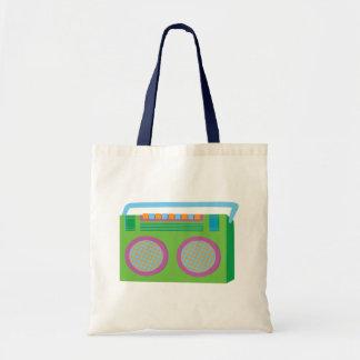 Rockin' Stereo Tote Bag