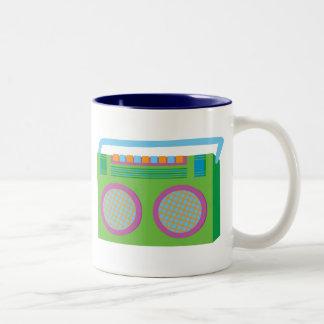 Rockin' Stereo Two-Tone Coffee Mug