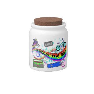 Rockin The 80s Candy Jar