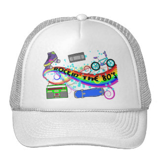 Rockin The 80s Trucker Hat