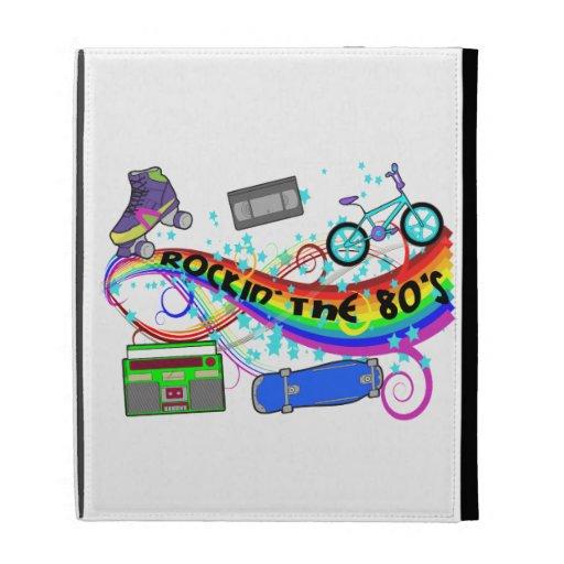 Rockin The 80s iPad Folio Cover