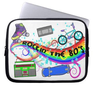 Rockin The 80s Laptop Sleeve