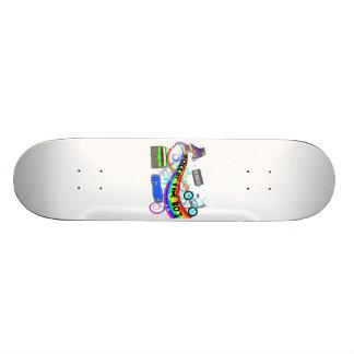 Rockin The 80s Skateboard Deck