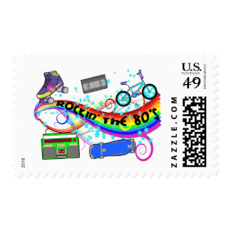 Rockin' The 80's Stamps