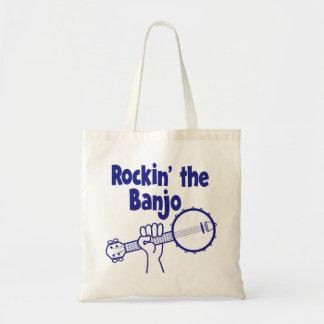 ROCKIN' THE BANJO TOTE BAG