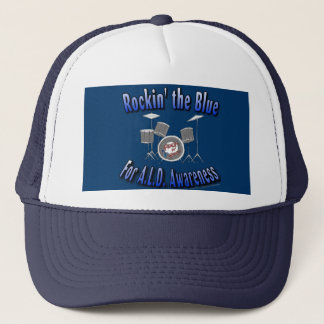 Rockin the Blue ALD AWARENESS Trucker Hat