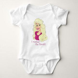 Rockin' the Farrah Baby Bodysuit