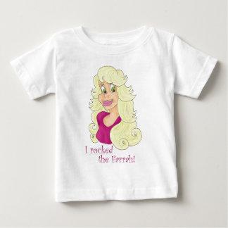 Rockin' the Farrah Baby T-Shirt