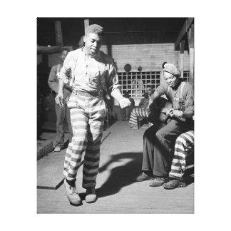 Rockin' the Jailhouse, 1941 Canvas Print