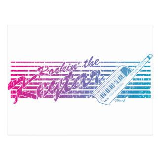 Rockin' the Keytar Postcard