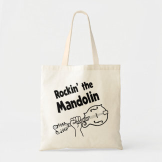 ROCKIN' THE MANDOLIN TOTE BAG
