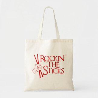 ROCKIN' THE STICKS TOTE BAG
