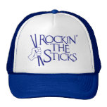 ROCKIN' THE STICKS TRUCKER HAT