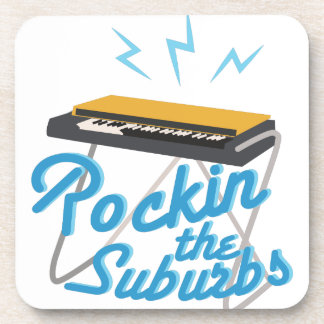 Rockin The Suburbs Drink Coaster
