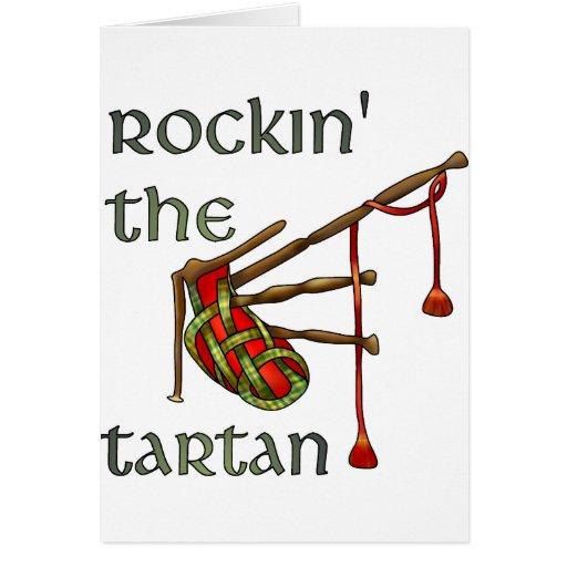 Rockin the Tartan Greeting Cards