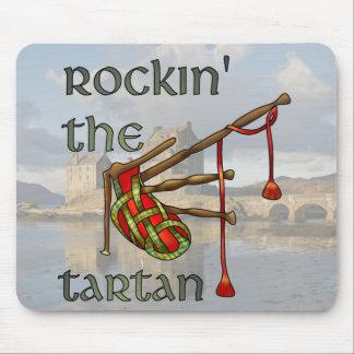 Rockin the Tartan Mouse Pad