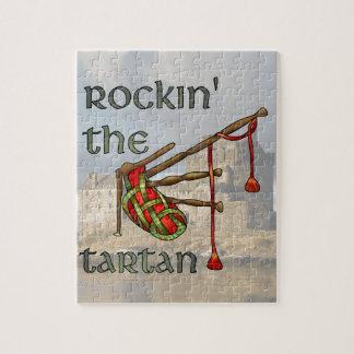 Rockin the Tartan Jigsaw Puzzle