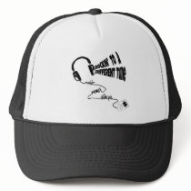 Rockin' to a Different Tune - Music Never Sleeps Trucker Hat