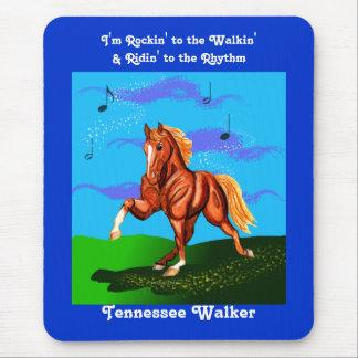 Rockin To the Walkin Tennesee Walker Mousepad