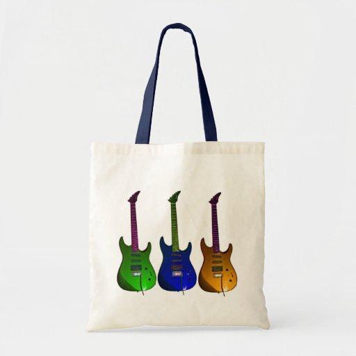 Rockin Guitar Budget Tote Bag