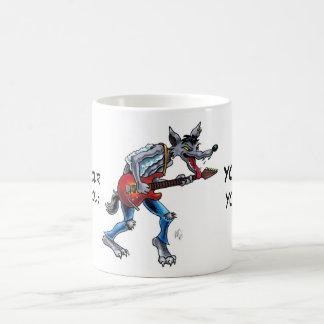 Rockin' Wolf mug