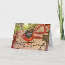 ROCKING AROUND 5x7 Greeting Card