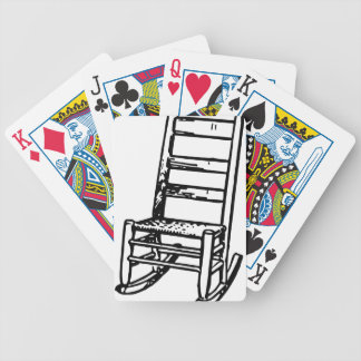 Rocking Chair Bicycle Playing Cards