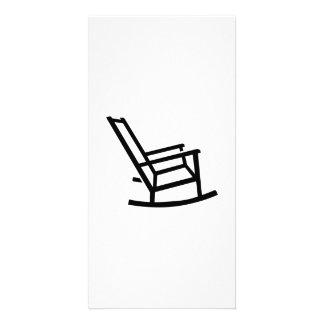 Rocking chair card