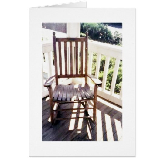 Rocking Chair Notecard by Ohme