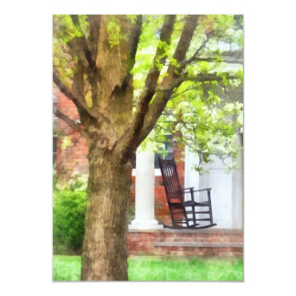 Rocking Chair on Porch Card