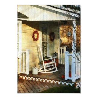 Rocking Chair on Side Porch Card