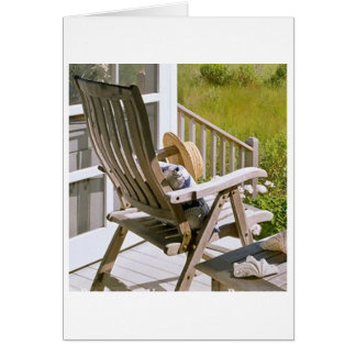 ROCKING CHAIR OR ROCK AND ROLL BIRTHDAY WISHES CARD