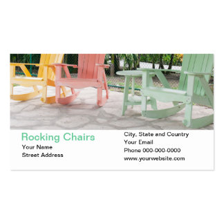 Rocking Chairs Business Card