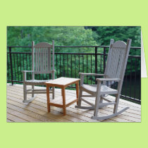 Rocking Chairs Retirement Card