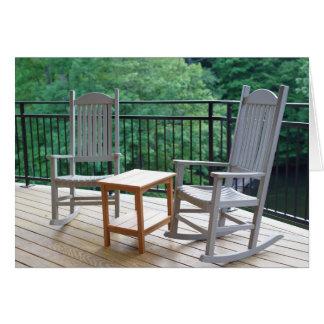 Amazing Rocking Chairs Retirement Card
