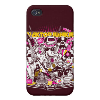 Rocking Ganesha Covers For iPhone 4