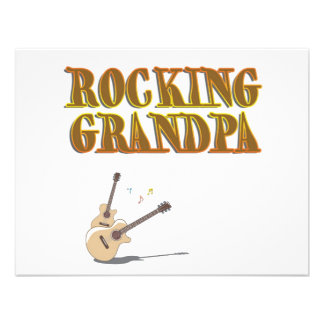 ROCKING GRANDPA CUSTOM INVITATIONS