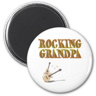 ROCKING GRANDPA MAGNETS