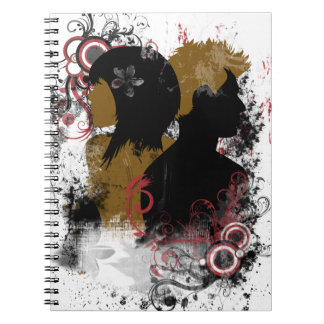Rocking Hair Style Notebook