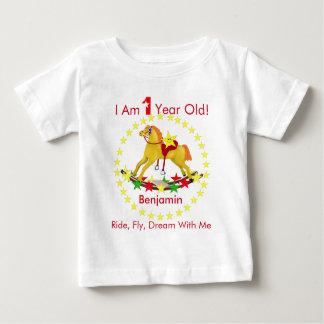 Rocking Horse 1st Birthday Party T-shirt